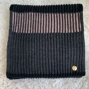 Cole Haan Soft Ribbed Knit Scarf